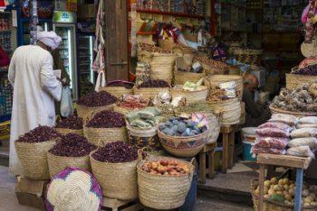 Bazar in Ägypten