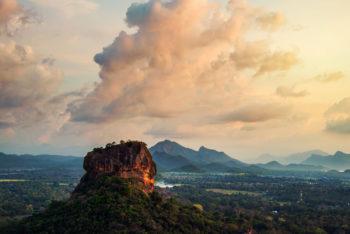 Berge von Sri Lanka