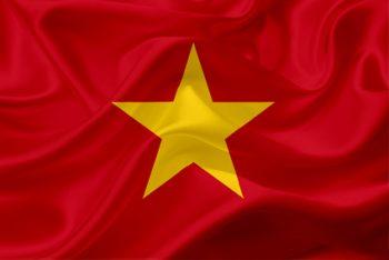 Vietnam Flagge