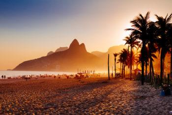 Ipanem Strand in Rio de Janeiro