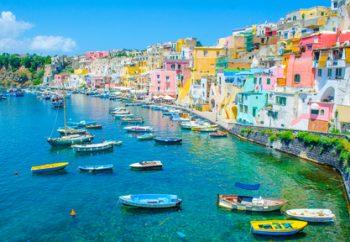 Hafen in Italien
