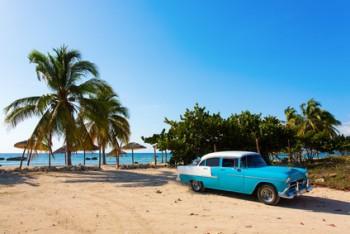 Strand von Kuba