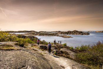 Landschaft in Schweden